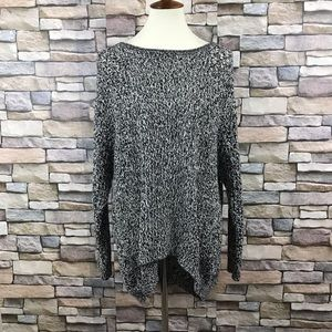 Eddie Bauer Open Knit Oversized Sweater Size L